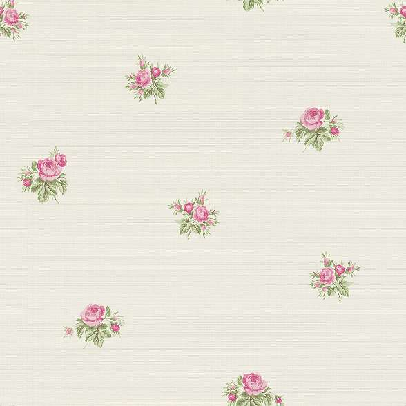 Provance vintage rózsamintás tapéta