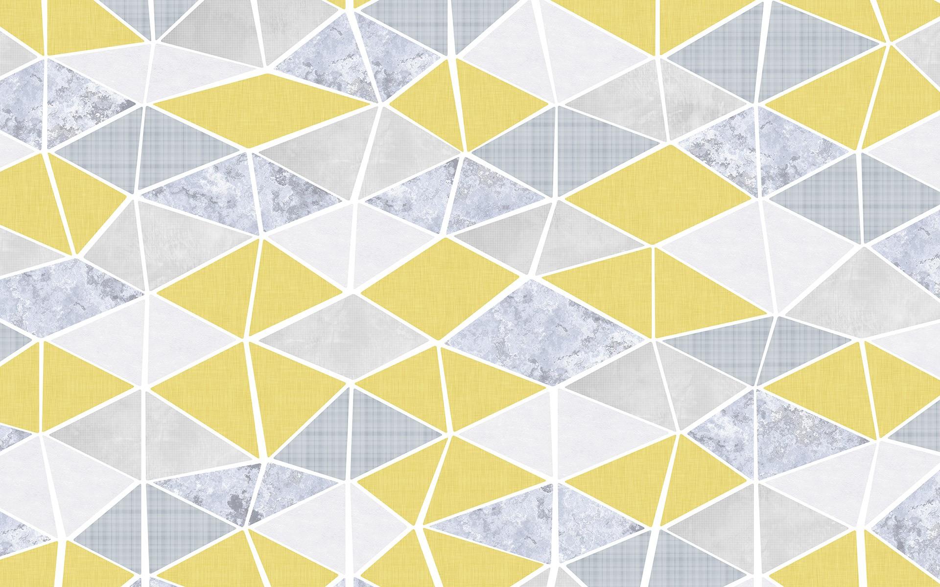 Retró geometriai mintás fali poszter