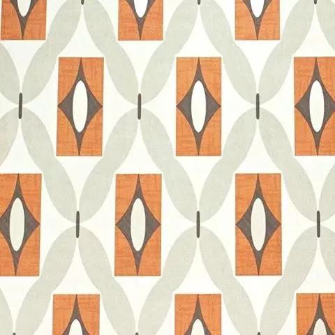 Retró geometrikus mintás tapéta