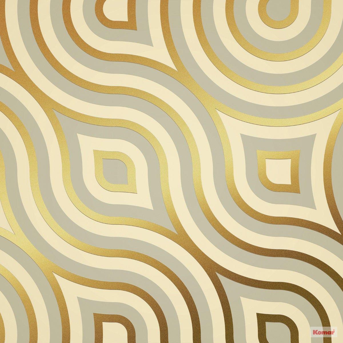 Retró stílusú geometriai mintás fali poszter