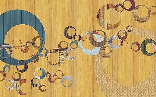 Retró színes fali poszter
