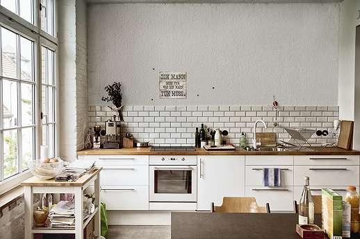 Retro tábla falmatrica konyhába
