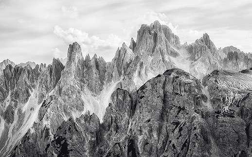 Rögös hegy mintás fali poszter