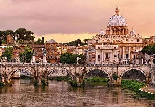 Róma városkép fali poszter