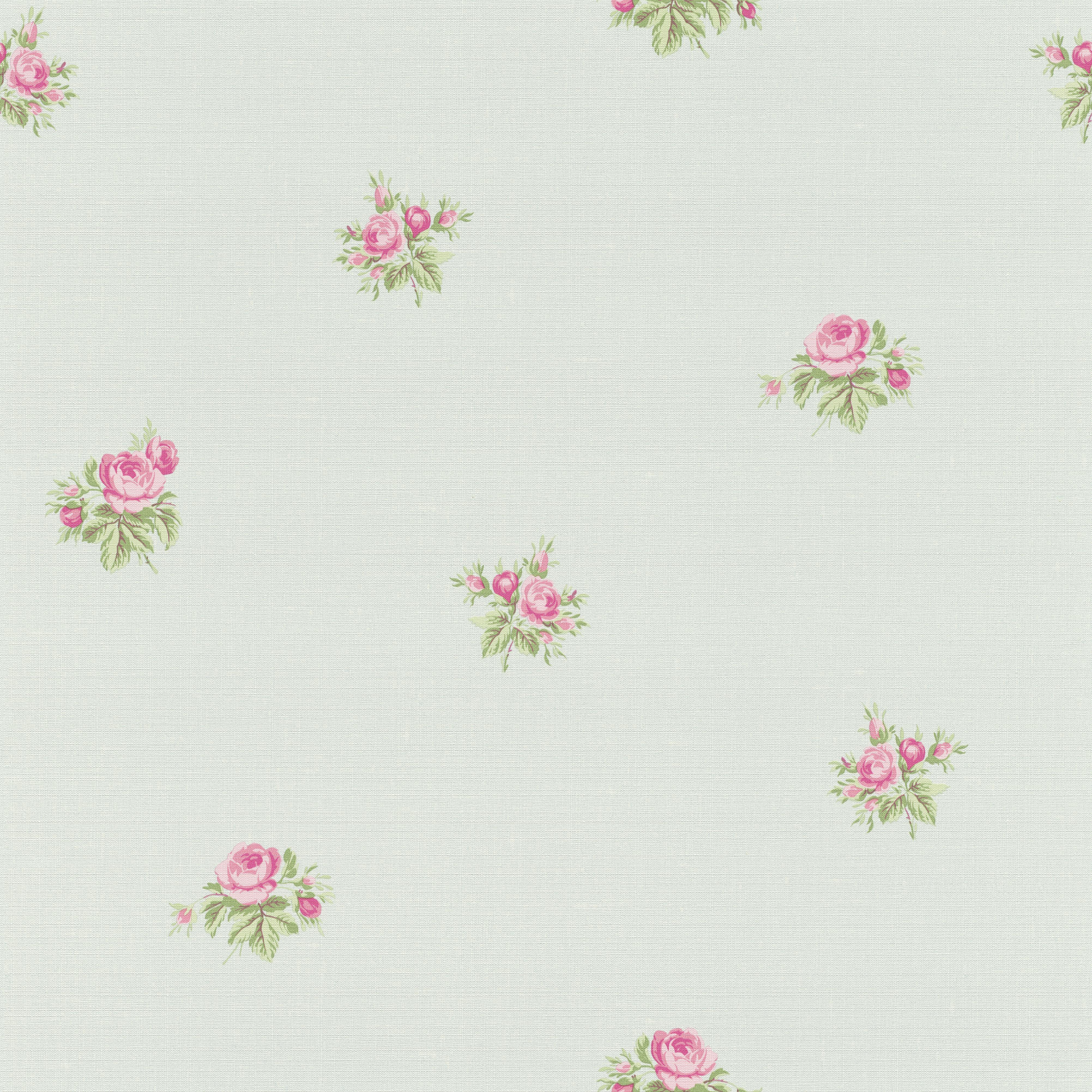 Romantikus rózsa mintás tapéta