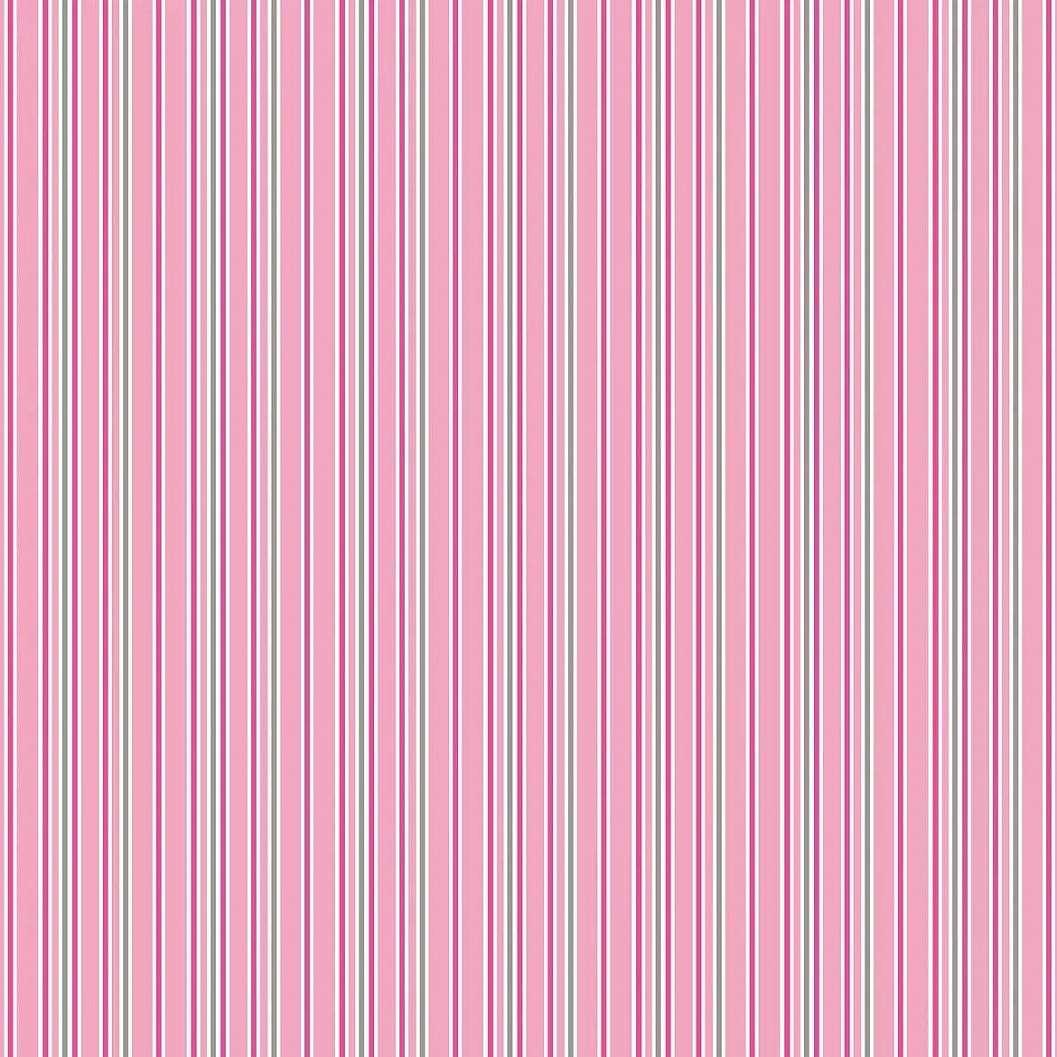 Rózsaszín csíkos mintás gyerektapéta