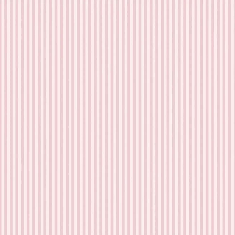 Rózsaszín csíkos mintás vlies tapéta sűrűn csíkozott mintával