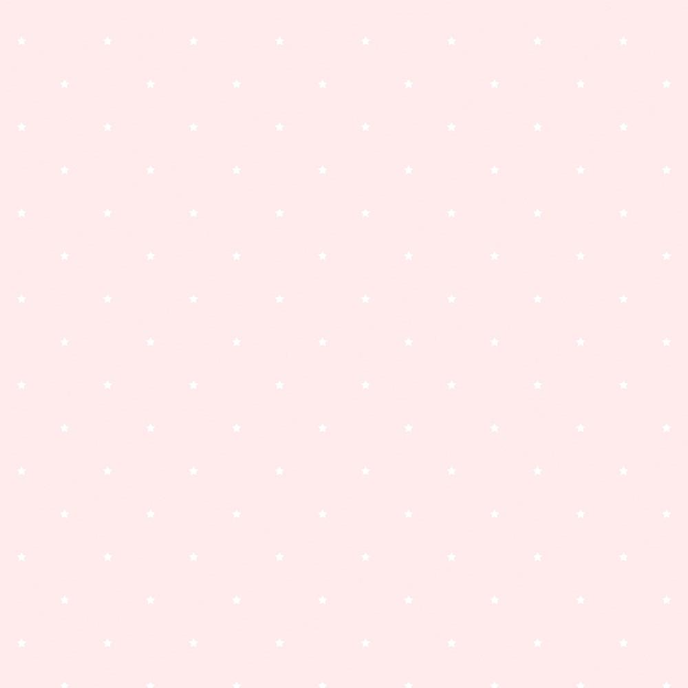 Rózsaszín csillag mintás gyerek tapéta