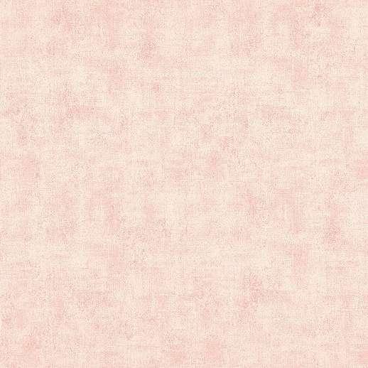 Rózsaszín egyszínű koptatott felületű mosható vlies vinyl tapéta