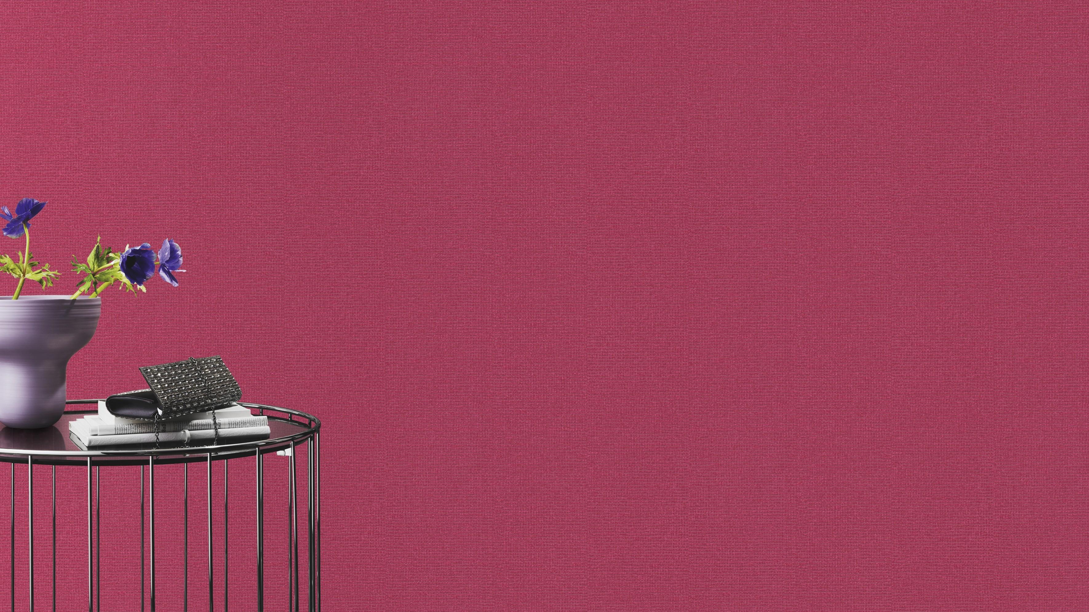 Rózsaszín egyszínű tapéta Rasch