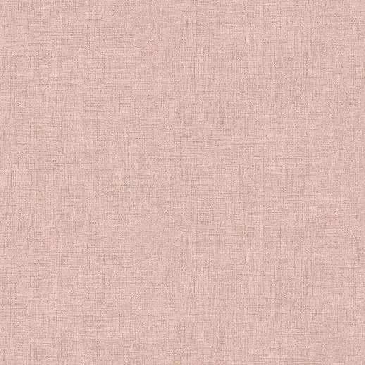 Rózsaszín egyszínű textil szőtt hatású vlies vinyl tapéta