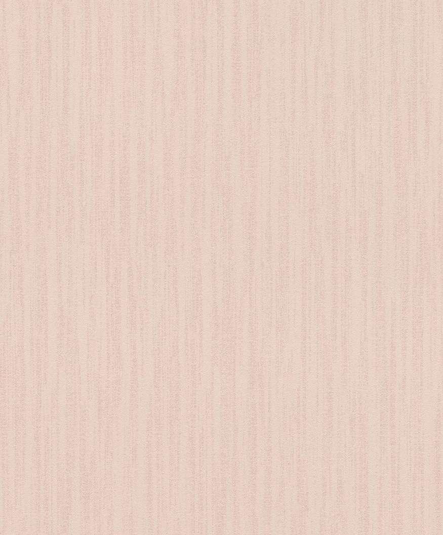 Rózsaszín finoman csíkozott vlies tapéta struktúrált felülettel