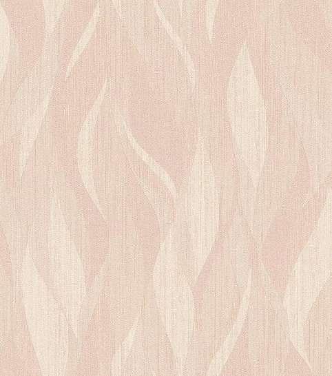 Rózsaszín hullám csíkos modern vlies tapéta