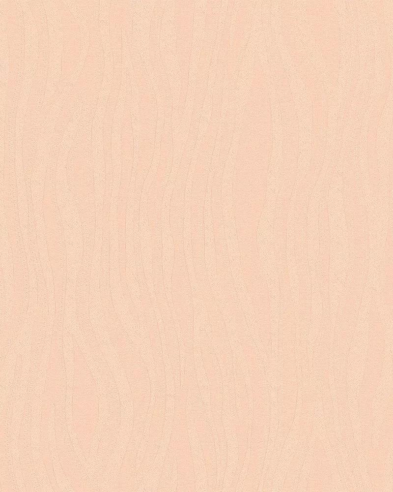 Rózsaszín vlies tapéta hullám mintával