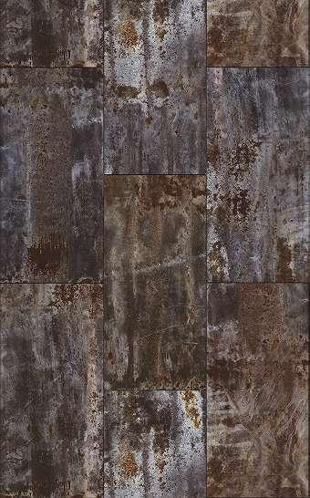 Rózsdás vaslemez fali poszter