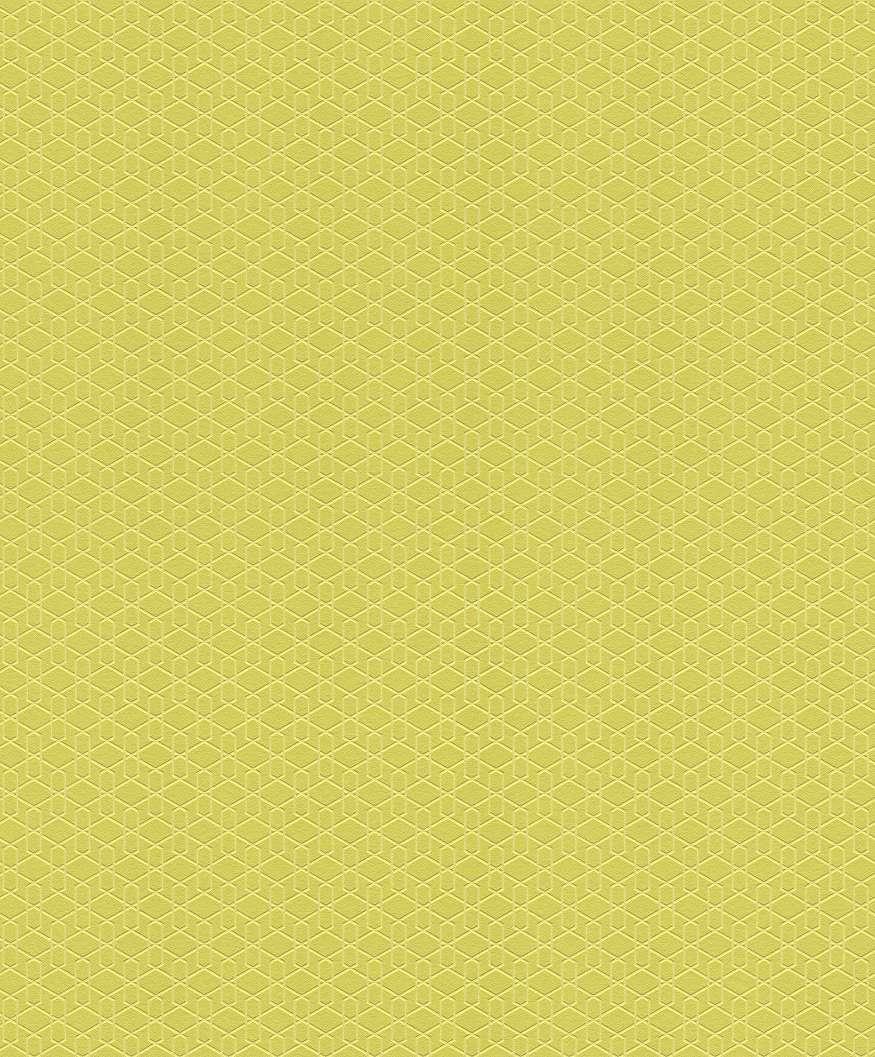 Sárga geometriai mintás modern tapéta