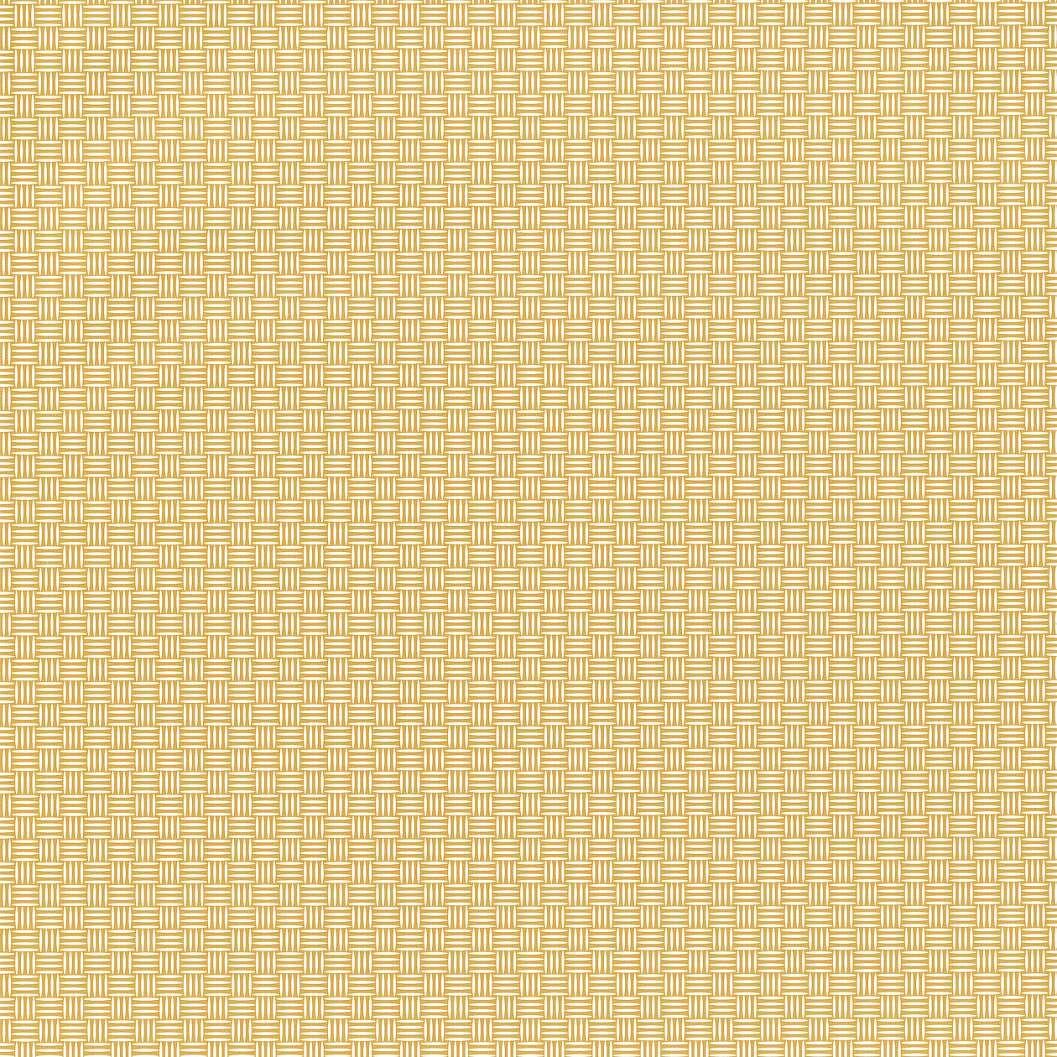 Sárga szövet hatású tapéta