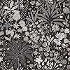 Skandináv stílusú rajzolt trópusi mintás tapéta