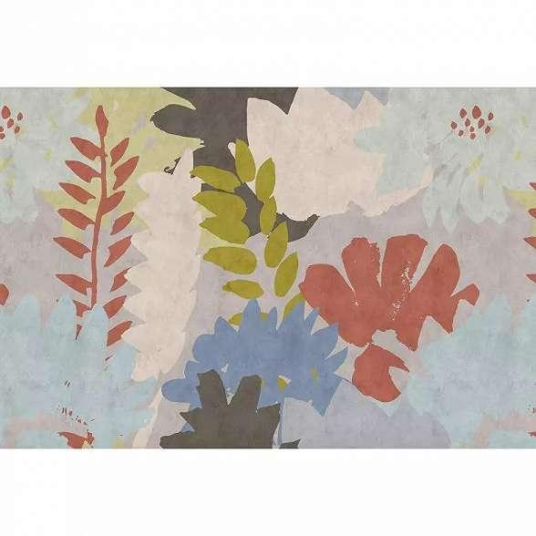 Skandináv stílusú virágmintás prémium fali poszter