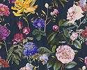 Sokszínű romantikus hangulatú virágmintás tapéta