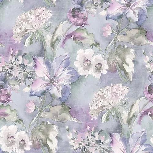 Sokszínű romantikus vintage virágmintás design tapéta