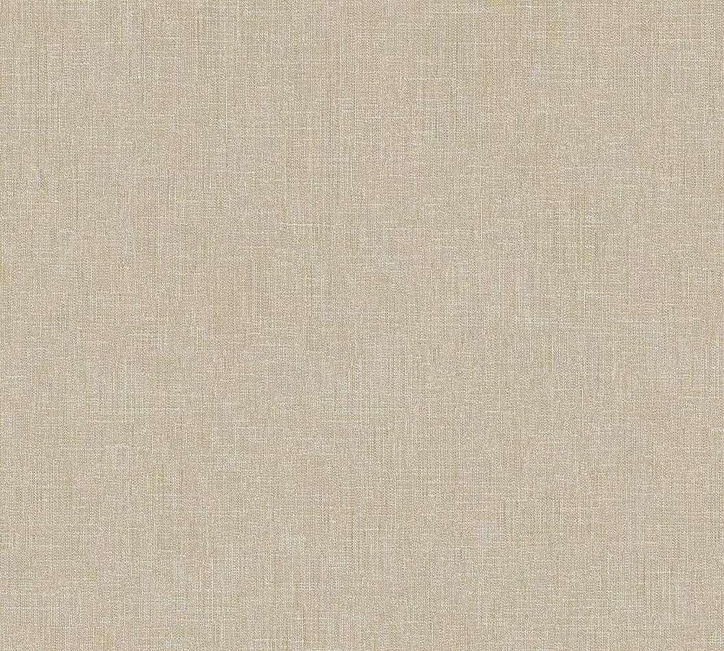 Sötét bézs egyszínű textil szőtt hatású vlies tapéta