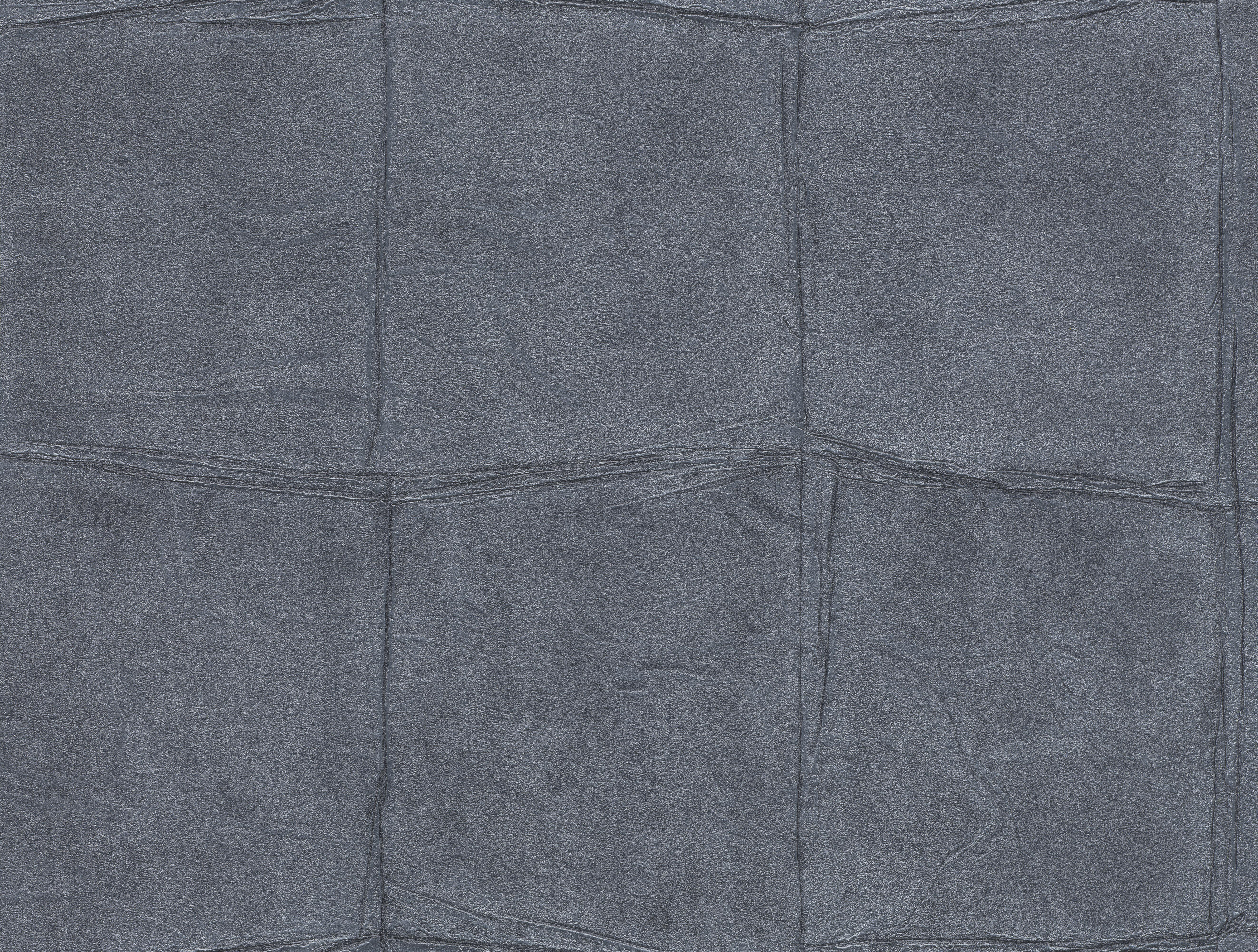 Sötétkék bőrhatású tapéta gyöngyházfénnyel