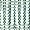 Sötétzöld-krém levél mintás tapéta