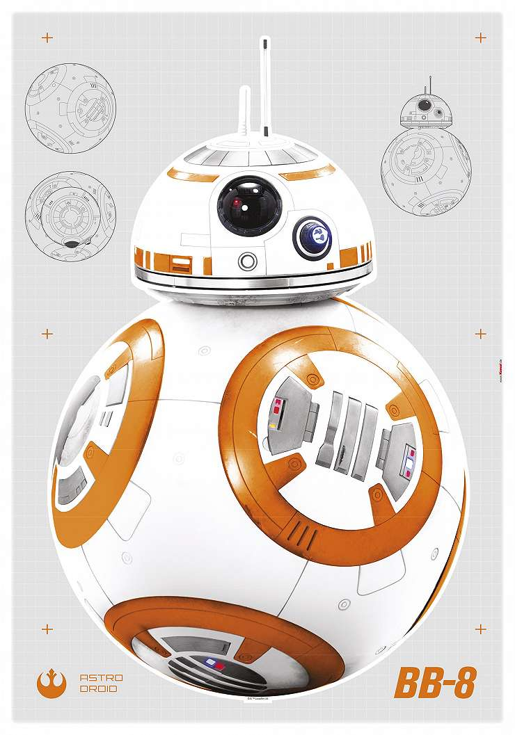 Star Wars BB8 falmatrica
