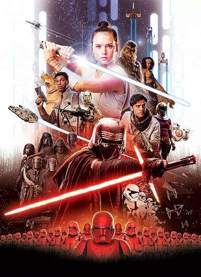 Star Wars fali poszter lázadók mintával