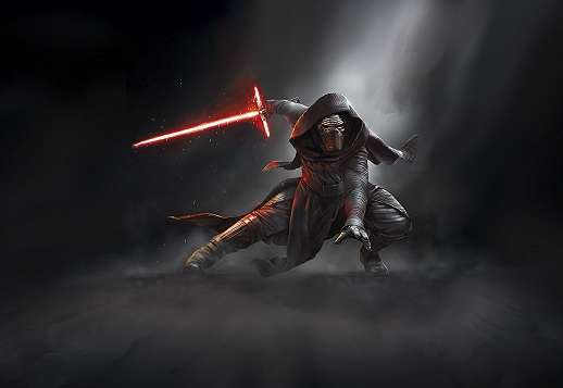 Star Wars Kylo Ren fali poszter