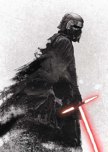 Star Wars Kylo Ren vlies fali poszter