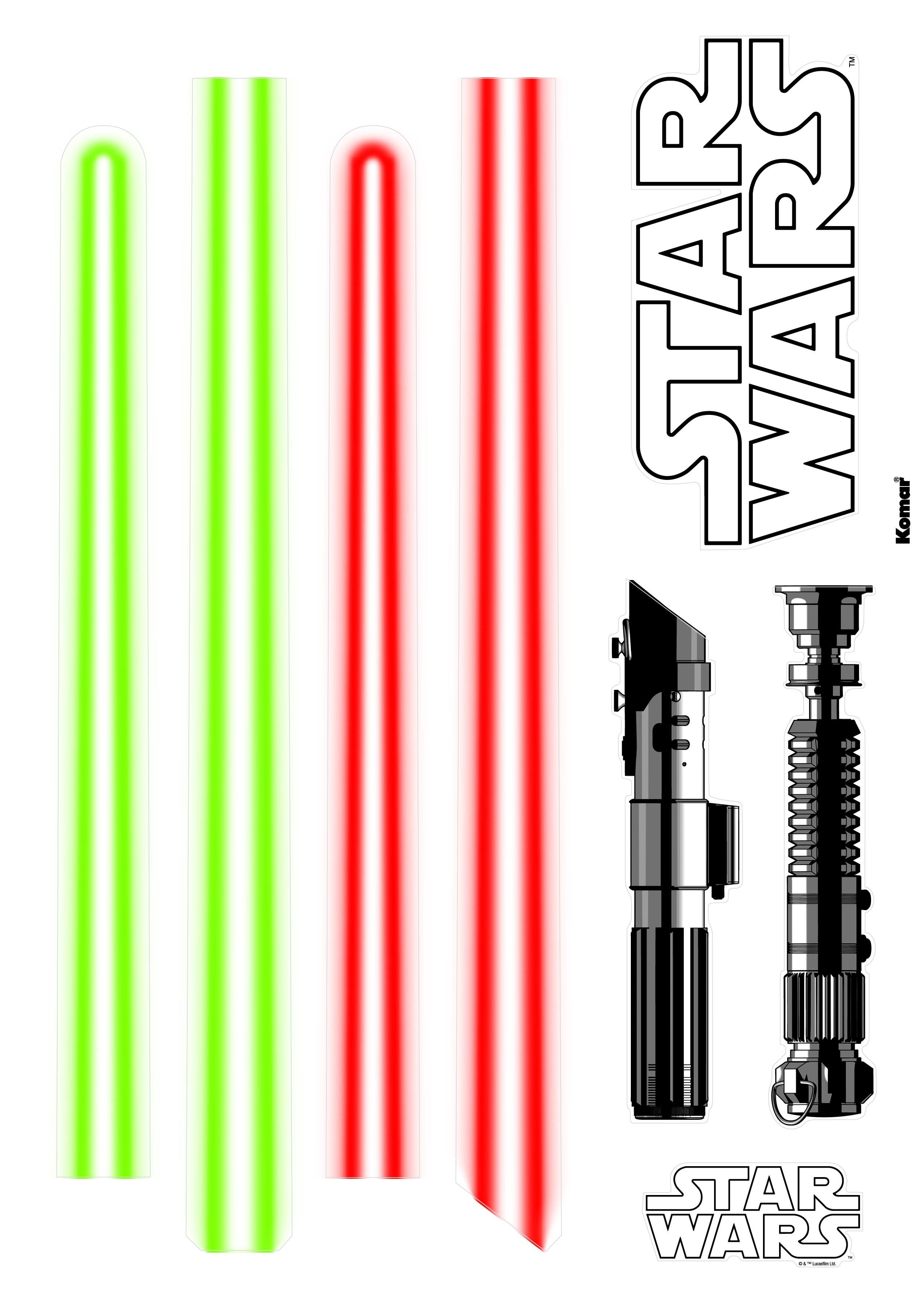Star Wars lézerkard falmatrica
