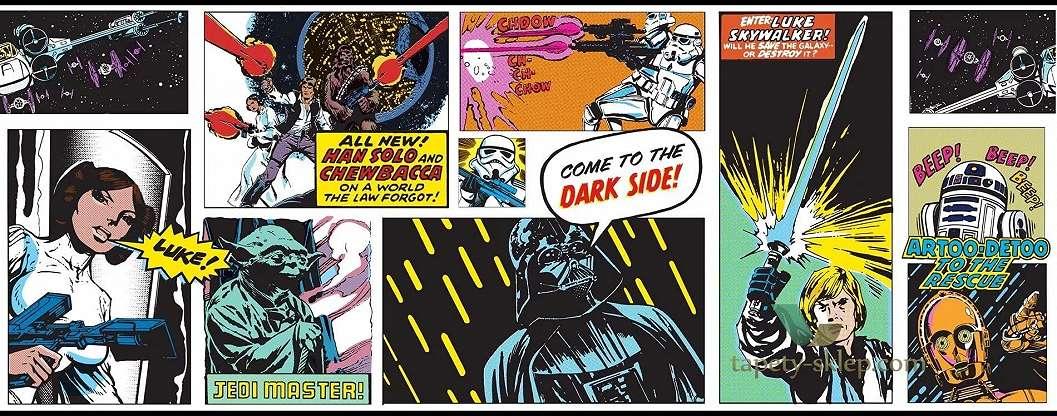 Star Wars mintás bordűr