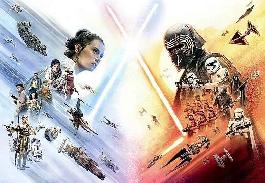 Star Wars óriás fali poszter