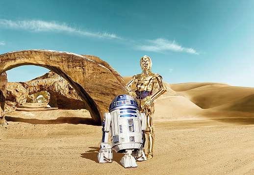 Star Wars R2D2 - 3CPO fali poszter