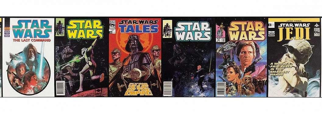 Star Wars retro bordűr