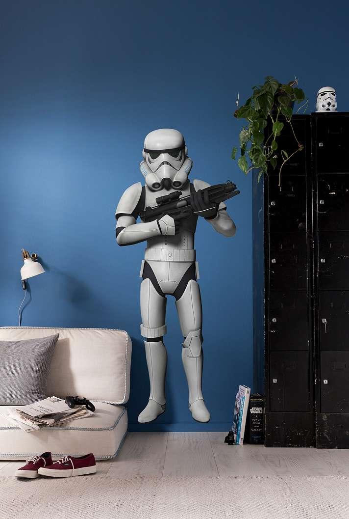 Star Wars rohamosztagos falmatrica
