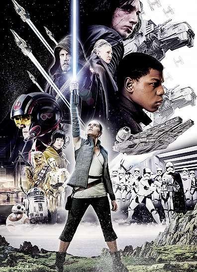 Star Wars Utolsó Jedik fali poszter