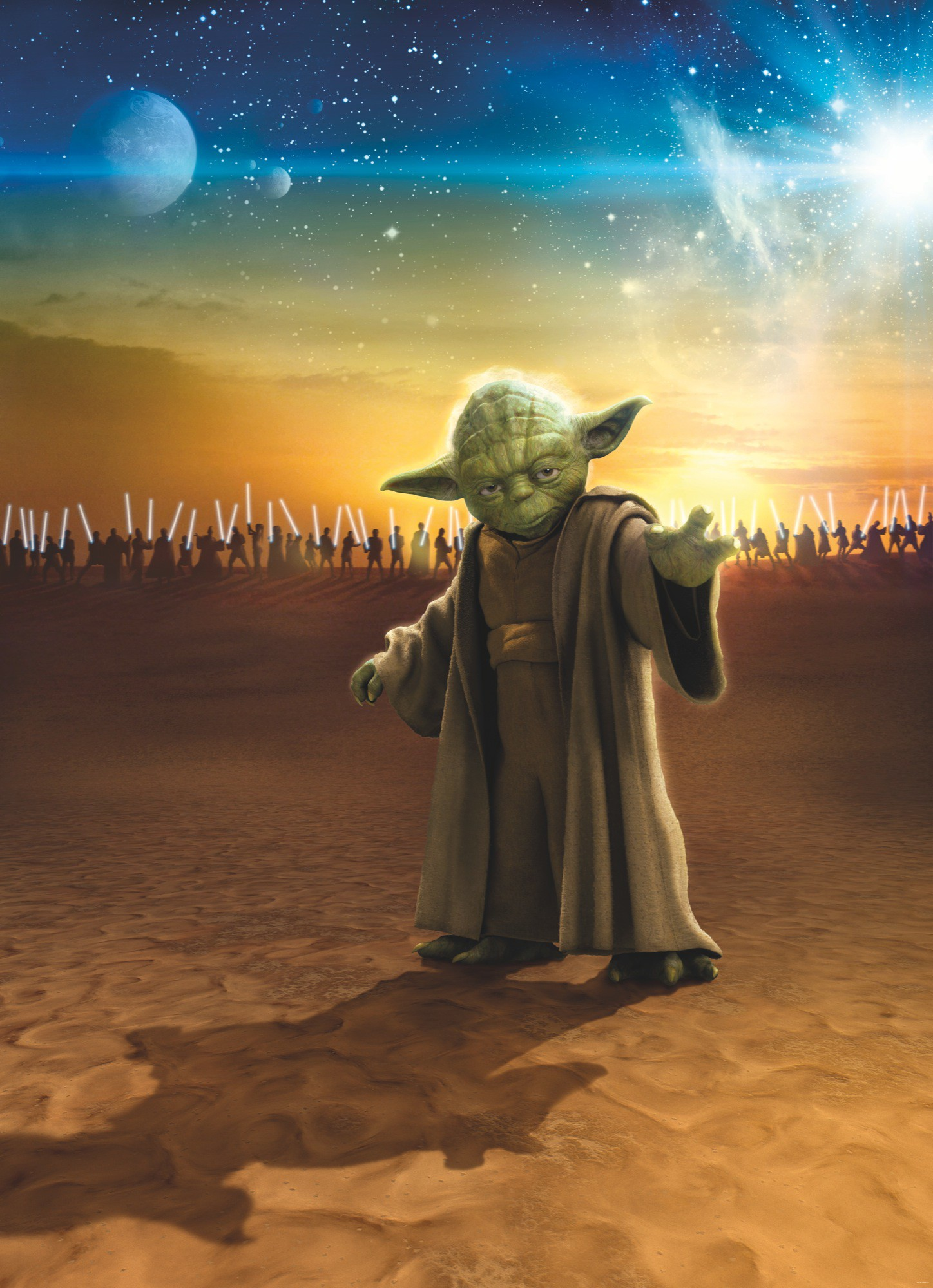 Star Wars Yoda mester fali poszter
