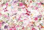 Színes állatos virágos fali poszter