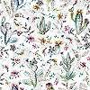 Színes kaktusz mintás modern tapéta