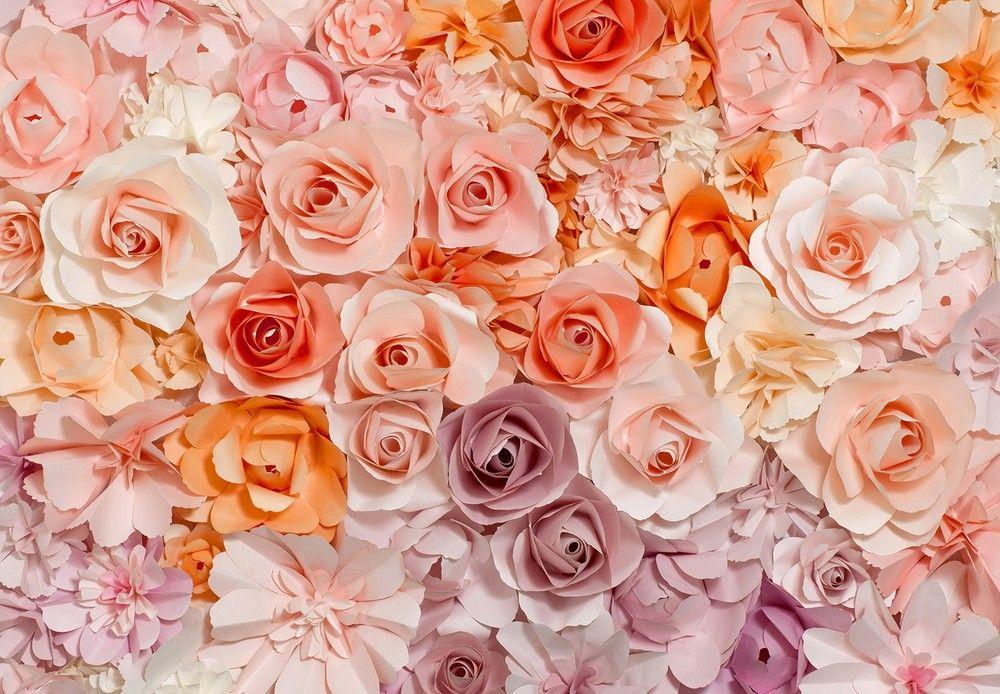 Színes rózsák fali poszter