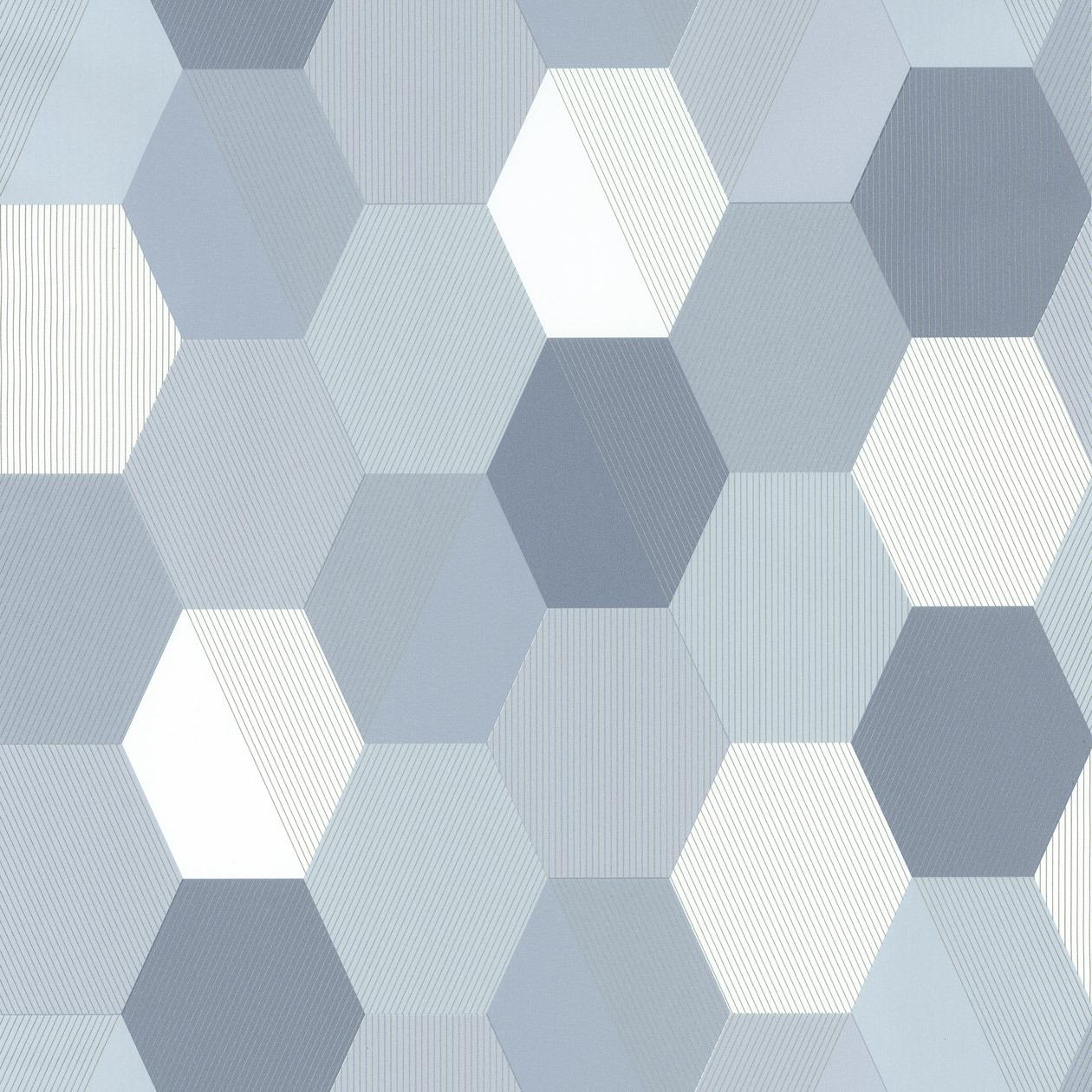Színes skandináv stílusú tapéta