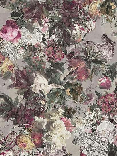 Színes virág mintás poszter