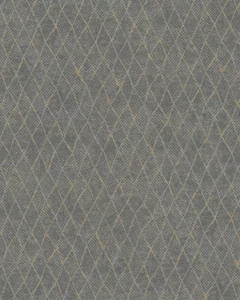 Szürke elegáns geometrikus mintás vlies tapéta