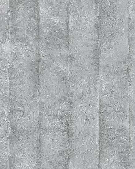 Szürke ezüst fényes felületű metál hatású csíkos mintás tapéta