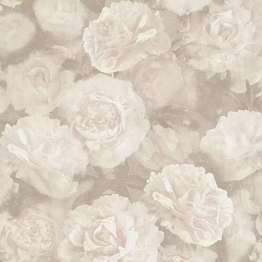 Szürke fakó rózsaszín rózsa mintás vintage dekor tapéta mosható felülettel