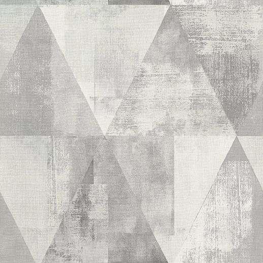 Szürke modern geometrikus mintás tapéta