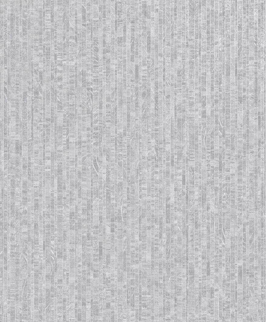 Szürke mozaik csíkos mintás vlies tapéta fényes metál hatással